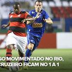 Futebol - Os gols - Flamengo 1 x 1 Cruzeiro - 13/10/12 - Brasileirão 2012