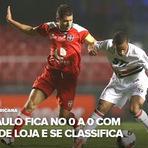 Futebol - São Paulo empata com a LDU - 24/10/12 - SulAmericana
