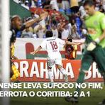 Futebol - Os gols - Fluminense 2 x 1 Coritiba - 25/10/12 - Brasileirão 2012