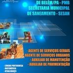 Concursos Públicos - Apostila para o Concurso da Prefeitura Municipal de Belém - SESAN