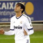 Futebol - Com gol de Kaká, Real Madrid vence o Alcoyano pela Copa do Rei