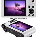 Câmera samsung smart WB150F compartilhe fotos e vídeos na hora