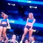 Basquete - Queda assustadora de cheerleader da NBA