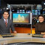 Entretenimento - Evaristo Costa e Sandra Annenberg formam a dupla mais entrosada e simpática do jornalismo da Globo