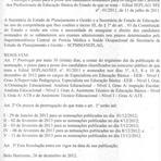 Educação - Concurso SEE MG 2011 - Prazo para posse dos candidatos aprovados em concurso é ampliado