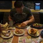 Entretenimento - Americano devora cardápio completo de restaurante em 20 minutos