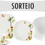 Promoções - Sorteio - Aparelho de Jantar Porcelana