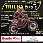 Esportes - Machadinho terá evento de trilha com motos - confira