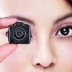 A menor câmera digital do Mundo!