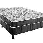 Ofertas - Cama Box Conjugado Casal 138x188cm - Umaflex Granada Black Top
