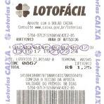 Entretenimento - Resultados de loterias: concurso 0867 da lotofácil