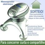Promoções - Sorteio - Massageador eletrônico