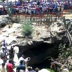 Violência - Após discussão com o marido, mulher é encontrada morta em gruta na cidade de Lapão