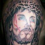 Religião - Fotos de Tatuagens de Jesus Cristo
