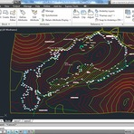 Educação - Como Importar Superfície com Curvas de Nível do Google Earth para o AutoCAD Civil...