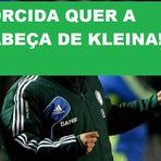 Futebol - TORCIDA QUER KLEINA FORA DO PALMEIRAS