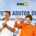 De olho em 2014, Dilma e Eduardo Campos trocam elogios mentirosos em pleno sertão de Pernambuco