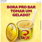 Ambev é advertida por anúncio de sorvete de cerveja no Facebook