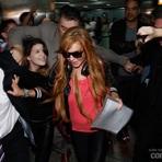 Entretenimento -  Lindsay Lohan chega ao Brasil
