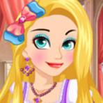 Jogos - Rapunzel Hairstyle - Jogos da Rapunzel no MeninasNet