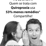 Saúde - Problemas tratados pela Quiropraxia.