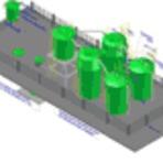 Diversos - Visualize uma estação de tratamento de esgoto