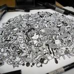 Entretenimento - Doodle arte by Melendres