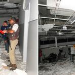 Violência - Bandidos cercam casa de delegada e explodem duas agências em Jaguaquara - BA