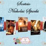 Livros -  Sorteio - 5 Livros de Nicholas Sparks