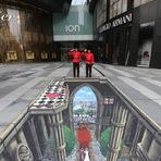 Pintura - 10 incríveis pinturas 3D feitas no chão
