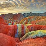 Meio ambiente - Montanhas Coloridas