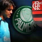 Após negociações com o Flamengo, Palmeiras terá 15% dos direitos de Marcelo Moreno.