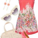 Moda & Beleza - Look floral