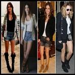Moda & Beleza - INSPIRE-SE!: SHORTS COM BOTAS