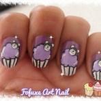 Moda & Beleza - Como fazer: Unha decorada Cupcake com ursinho!!