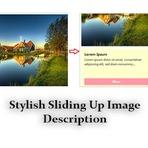 """""""Como adicionar """"Stylish"""" deslizando para cima """" ... """"widget""""... """"Imagem Descrição Widget"""" Do you want to share? Do you"""