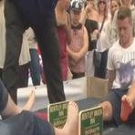Esportes - Campeonato mundial de luta de dedos grandes do pé