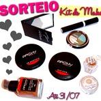 Promoções - Sorteio - kit Maquiagem + surpresa