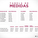 Saúde - Tabelas de medidas e calorias