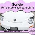 Promoções - Sorteio - Cílios p/ Carro