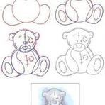Pintura - Como desenhar urso