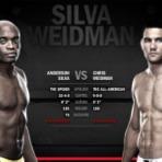 Esportes - UFC 162 : grande luta de Anderson Silva e Chris Weidman, 6 de julho, em Las Vegas (EUA)