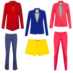 Moda & Beleza - Alerta Fashion: Alfaiataria Colorida!