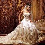 Moda & Beleza - Os mais belos Vestidos de Noiva