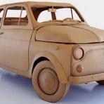 Automóveis - Carros feitos de papelão