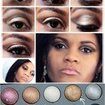 Tutoriais - Paleta E.L.F Baked Eyeshadow