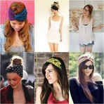 Moda & Beleza - Acessórios para os cabelos verão 2014