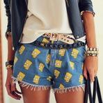 Moda & Beleza - Moda: Estampa Bart Simpson