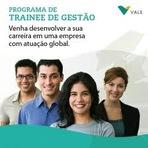 Empregos - Vale do Rio Doce- Programa de Trainee 2014