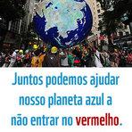 """Meio ambiente - Alerta Vermelho Chegamos ao Overshoot Day em 20 de agosto. No dia """"20 de agosto"""", o consumo humano excedeu..."""